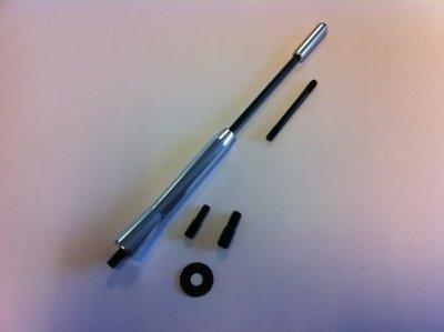 Antenne spriet Aluminium M5/M6 (165mm)